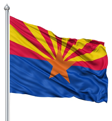 Beautiful Arizona State Flags for sale at AmericaTheBeautiful.com