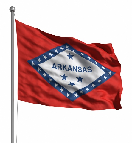 Beautiful Arkansas State Flags for sale at AmericaTheBeautiful.com