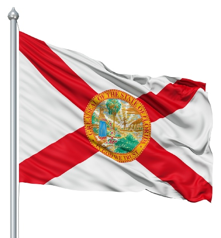 Beautiful Florida State Flags for sale at AmericaTheBeautiful.com