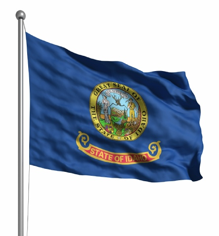 Beautiful Idaho State Flags for sale at AmericaTheBeautiful.com
