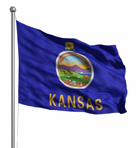 Beautiful Kansas State Flags for sale at AmericaTheBeautiful.com