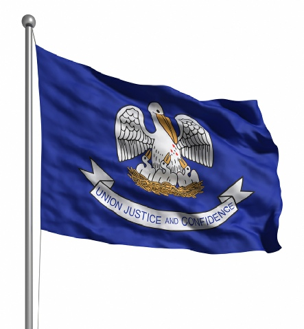 Beautiful Louisiana State Flags for sale at AmericaTheBeautiful.com