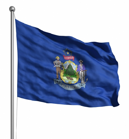 Beautiful Maine State Flags for sale at AmericaTheBeautiful.com