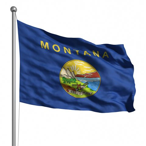 Beautiful Montana State Flags for sale at AmericaTheBeautiful.com