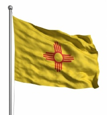 New Mexico United States of America Flag Site