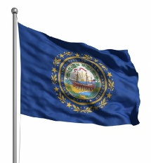 New Hampshire United States of America Flag Site
