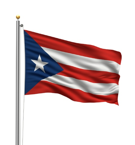 Beautiful Puerto Rico territory Flags for sale at AmericaTheBeautiful.com