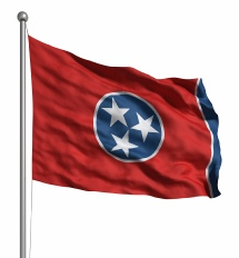 Tennessee United States of America Flag Site
