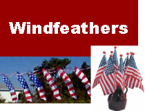 USA American Patriotic Products including USA Windfeathers, Small USA Flags, Patriotic USA License Plates, American Made Puzzles and more.