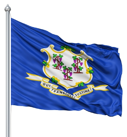 Beautiful Connecticut State Flags for sale at AmericaTheBeautiful.com